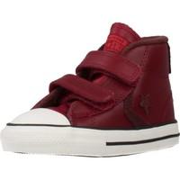 Schuhe Jungen Sneaker High Converse STAR PLAYER 2V MID Rot