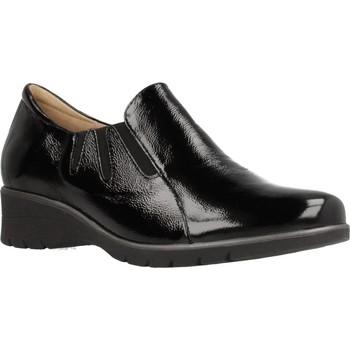 Schuhe Damen Slipper Piesanto 195958 Schwarz