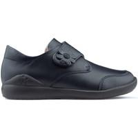 Schuhe Mädchen Derby-Schuhe & Richelieu Biomecanics BLUMEN  SCHULEN MARINE