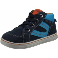 Schuhe Jungen Sneaker High Lurchi Schnuerschuhe Lauflernstiefel Kaltfutter JESSA 33-14674-22 blau