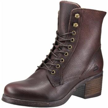 Schuhe Damen Stiefel Bullboxer Stiefeletten brown 490M80302AMBRWTD80 braun