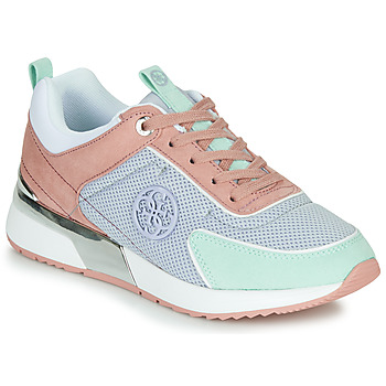 Schuhe Damen Sneaker Low Guess FL5MR5-FAB12-LBLUE Rose / Blau