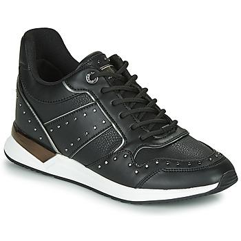 Schuhe Damen Sneaker Low Guess  Schwarz