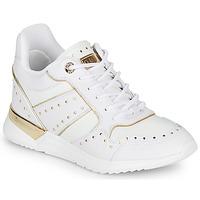 Schuhe Damen Sneaker Low Guess FL5REJ-ELE12-WHITE Weiss