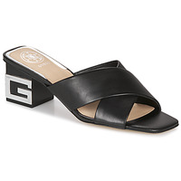 Schuhe Damen Pantoffel Guess MADRA Schwarz