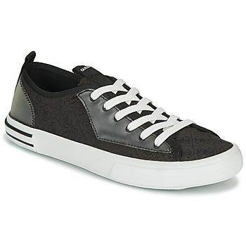 Schuhe Herren Sneaker Low Guess NETTUNO LOW Schwarz