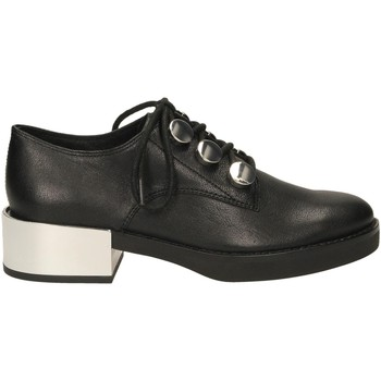 Schuhe Damen Derby-Schuhe What For AMBROISE black