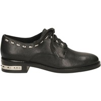 Schuhe Damen Derby-Schuhe What For JOSHUA black
