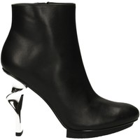 Schuhe Damen Ankle Boots United nude TWIRL BOOTIE nero