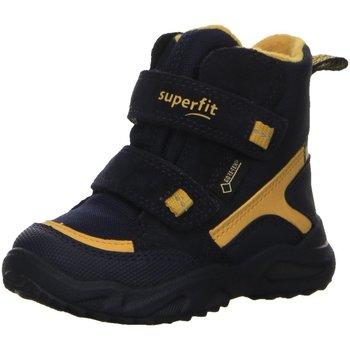Schuhe Jungen Babyschuhe Superfit Winterboots 09235-81 blau