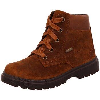 Schuhe Mädchen Stiefel Superfit Schnuerstiefel 5-09453-30 braun
