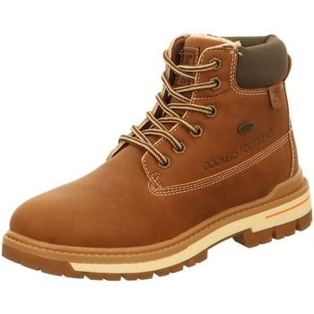 Schuhe Jungen Stiefel Dockers by Gerli Schnuerstiefel 45TG701-637300 braun