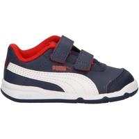 Schuhe Kinder Sneaker Low Puma 192523 STEPFLEEX Azul