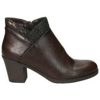 Schuhe Damen Ankle Boots Deity YSY16573-ME Marron