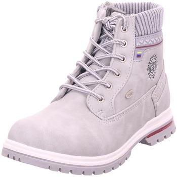 Schuhe Jungen Stiefel Dockers - 45BI701-637 grau