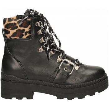 Schuhe Damen Boots Janet Sport AMANDA/EUGENIA nero-beige