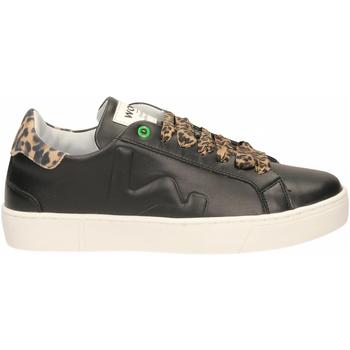 Schuhe Damen Sneaker Low Womsh SNIK black-leopard