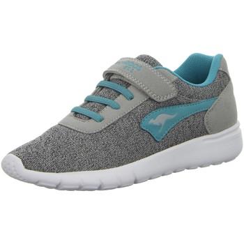 Schuhe Mädchen Sneaker Kangaroos Low K-Gard EV,vapor grey/turquoise 18395 grau