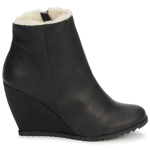 D.Co Copenhagen Schuhe SALLY ZIPPER Schwarz  Schuhe Copenhagen Low Boots Damen 146,30 22fa5a