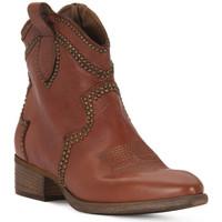 Schuhe Damen Klassische Stiefel Priv Lab ROSSO BUFALO Rosso