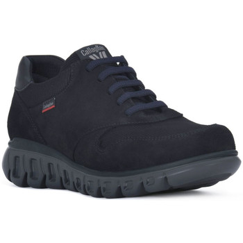 Schuhe Herren Sneaker Low CallagHan BALI MARINO Blu