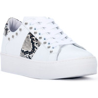 Schuhe Damen Sneaker Low At Go GO GALAXY BIANCO Bianco