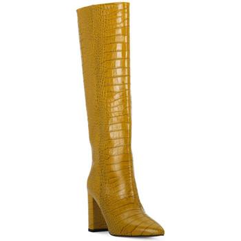Schuhe Damen Klassische Stiefel Priv Lab OCRA COCCO Giallo