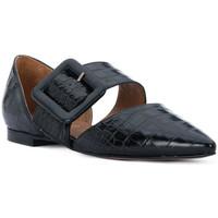Schuhe Damen Ballerinas Priv Lab COCCO NERO Nero