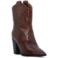 Schuhe Damen Low Boots Priv Lab CHOCO COCCO Marrone