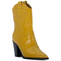 Schuhe Damen Low Boots Priv Lab OCRA COCCO Giallo