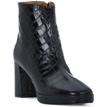 Schuhe Damen Low Boots Priv Lab NERO COCCO Nero