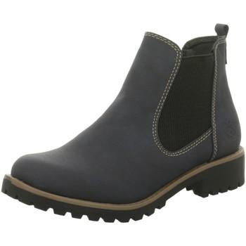 Schuhe Damen Stiefel Idana Stiefeletten 254351836 blau