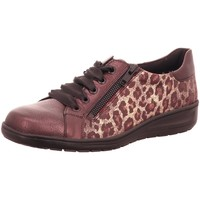 Schuhe Damen Derby-Schuhe & Richelieu Solidus Schnuerschuhe Heaven SMOKY/PANTHER wine H 2702050183 animal