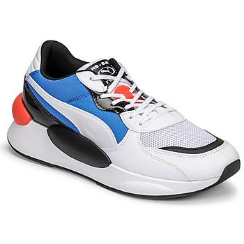 Schuhe Herren Sneaker Low Puma RS 9.8 MERMAID Weiss / Schwarz / Blau