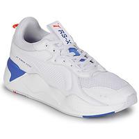 Schuhe Sneaker Low Puma RS-X MASTER Weiss / Marine
