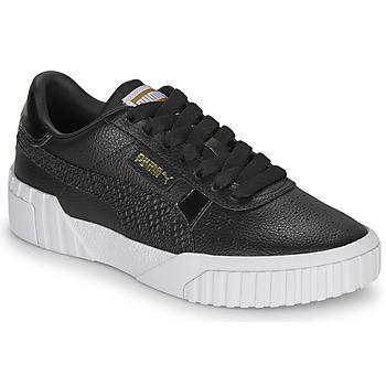 Schuhe Damen Sneaker Low Puma CALI Schwarz