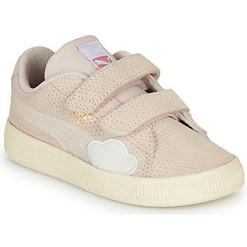 Schuhe Mädchen Sneaker Low Puma SUEDE Rose