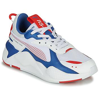 Schuhe Kinder Sneaker Low Puma RS-X Weiss / Blau / Rot