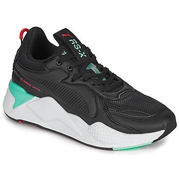 Schuhe Herren Sneaker Low Puma RS-X Schwarz / Weiss