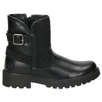 Schuhe Mädchen Boots Chika 10 CHK10 DADO 07 Noir