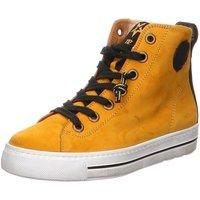 Schuhe Damen Stiefel Paul Green 4842 4842-005 gelb