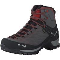 Schuhe Herren Wanderschuhe Salewa Sportschuhe MS MTN TRAINER MID GTX 63458-4720 grau