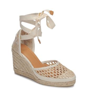 Schuhe Damen Sandalen / Sandaletten Castaner CAROLA Creme