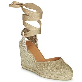 Schuhe Damen Sandalen / Sandaletten Castaner CARINA Goldfarben