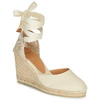 Schuhe Damen Sandalen / Sandaletten Castaner CARINA Creme