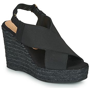 Schuhe Damen Sandalen / Sandaletten Castaner FEDERICA Schwarz