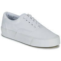 Schuhe Damen Sneaker Low Superdry CLASSIC LACE UP TRAINER Weiss