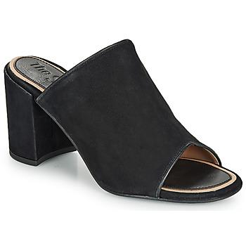 Schuhe Damen Pantoffel Superdry EDIT MULE Schwarz