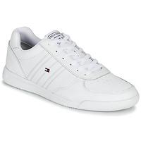 Schuhe Herren Sneaker Low Tommy Hilfiger LIGHTWEIGHT LEATHER SNEAKER Weiss
