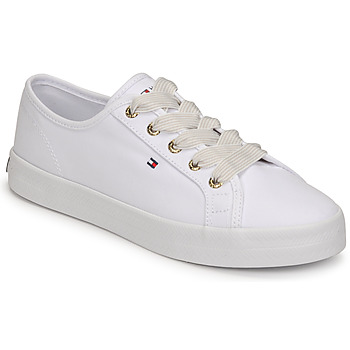 Schuhe Damen Sneaker Low Tommy Hilfiger ESSENTIAL NAUTICAL SNEAKER Weiss